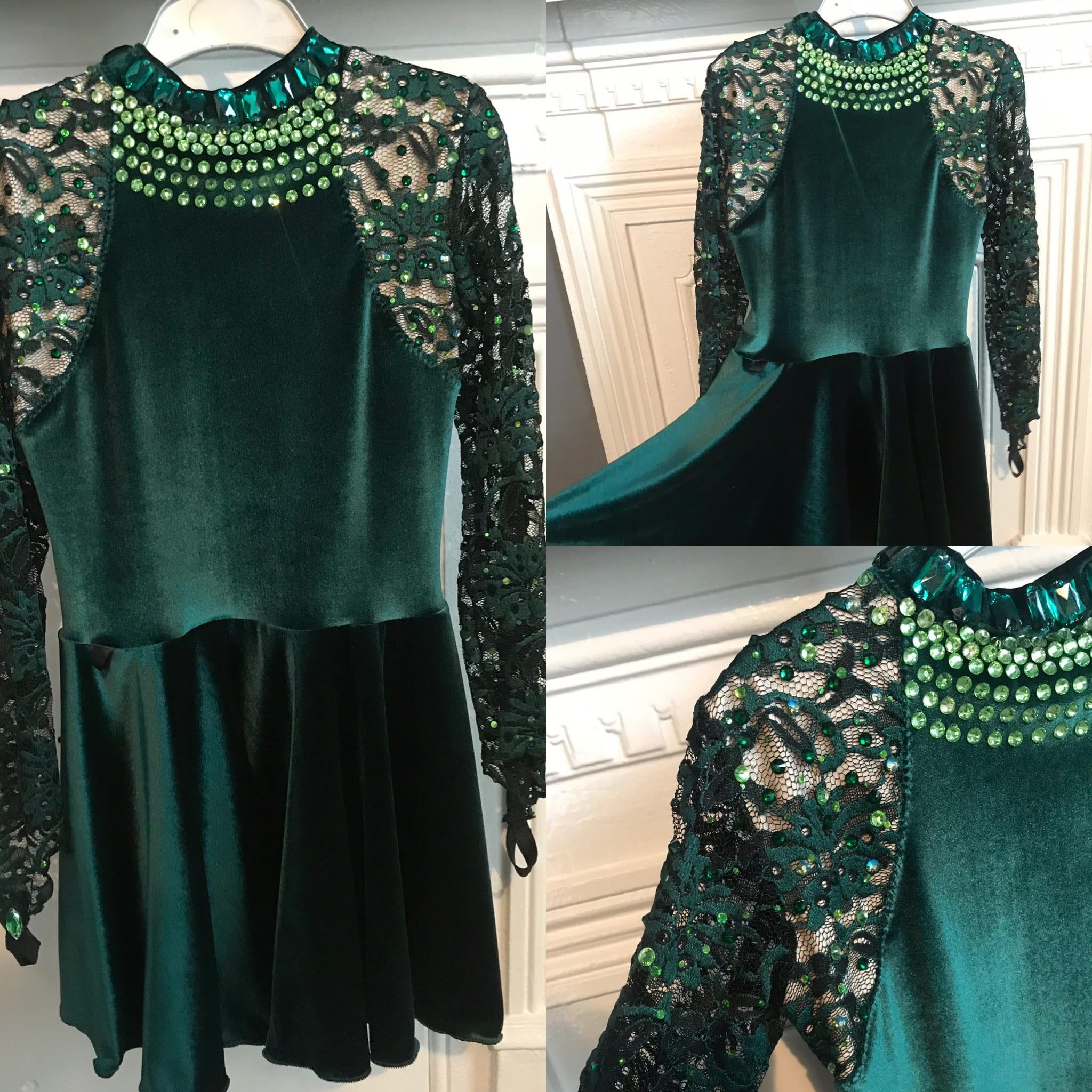 Ember Designs Dark Green In-between Dress