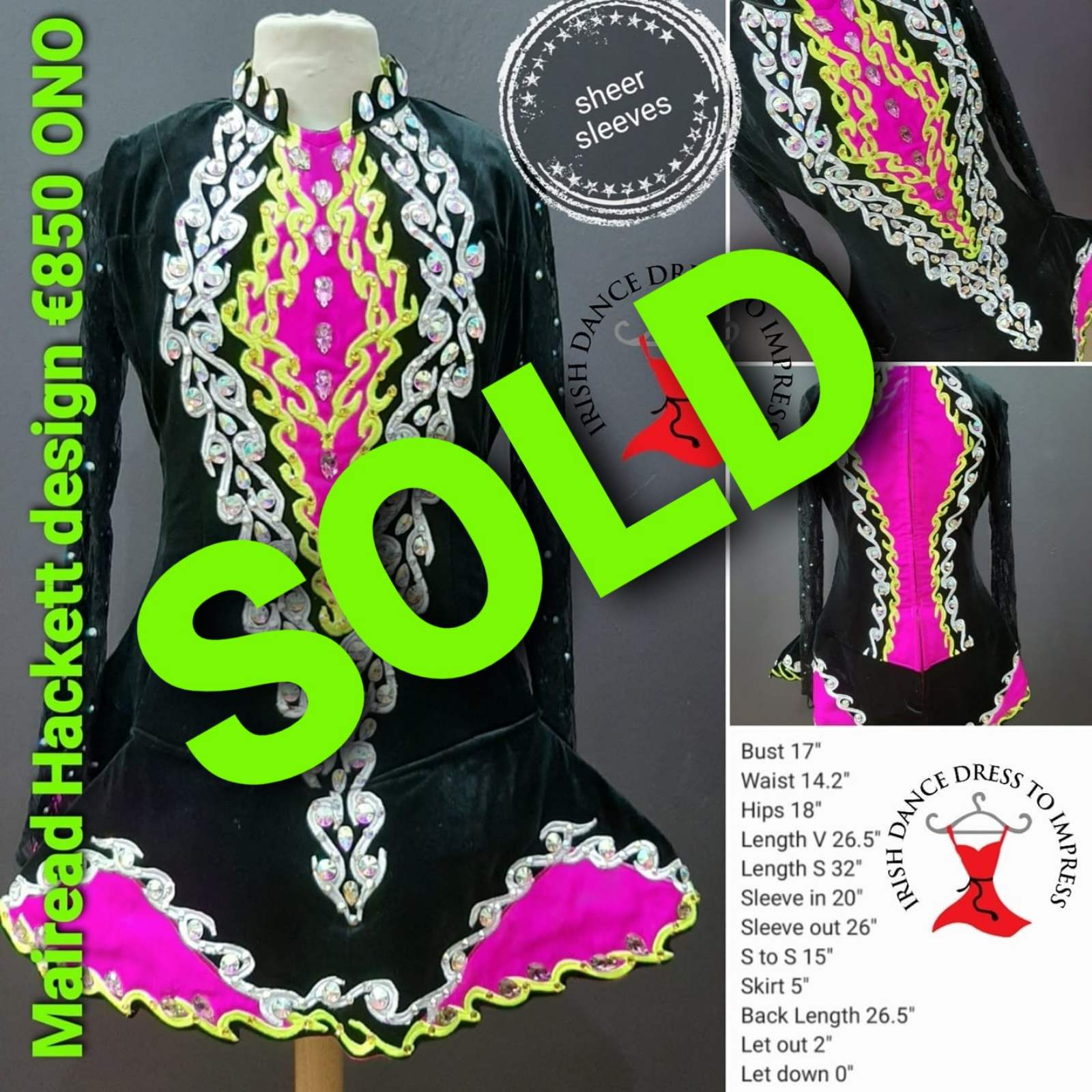 Dress #2908